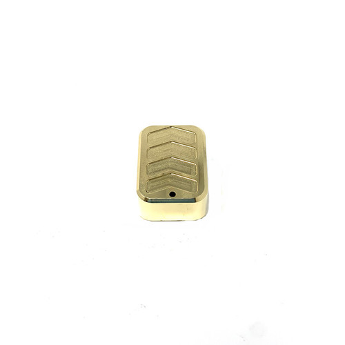Patriot Defense | CZ 75 Base Pad - Extended - BRASS
