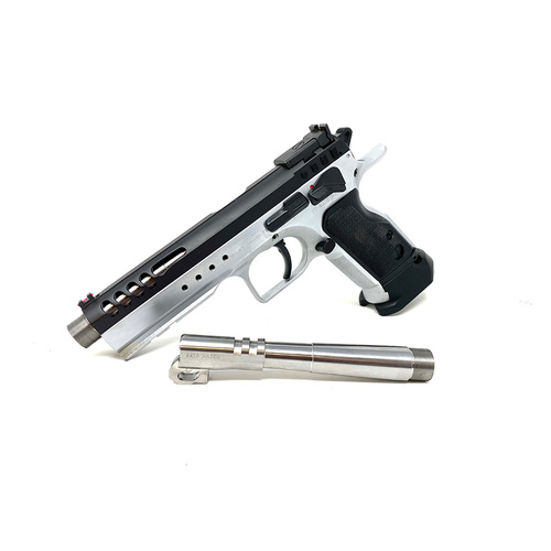 "Patriot Defense | Tanfoglio Match Bull Barrel - 5.25""OL  - 9mm - Threaded"