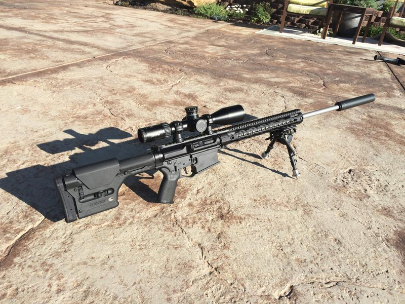 Patriot Defense AR-10 24″ Competition Ready Carbine – 243 Winchester