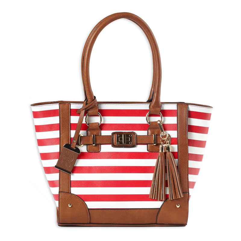 Bulldog | Concealed Carry Striped Tote