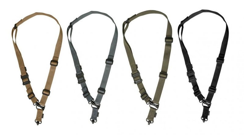 Your missions will be complete with the Magpul MS4 Dual QD GEN 2 Multi-Mission Firearm Sling to switch between one-point and two-point configurations. These rugged Slings made by the experts at Magpul Industries are made of heavy-duty nylon webbing and have a cast steel push-button QD sling swivel. The Magpul MS4 Dual QD GEN 2 Multi-Mission Tactical Sling provides a 2 to 1-point convertible sling option compatible with front and rear QD attachment points. The Magpul MS4 Dual QD GEN 2 Multi-Mission Near Infrared Sling keeps your rifle secure and snug so it's easy to carry for long distances and still lets you switch to shooting position in a flash.