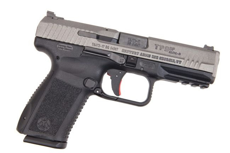 "CANIK | TP9SF ELITE-S 9MM 4.19"" 15RD Tungsten Grey"