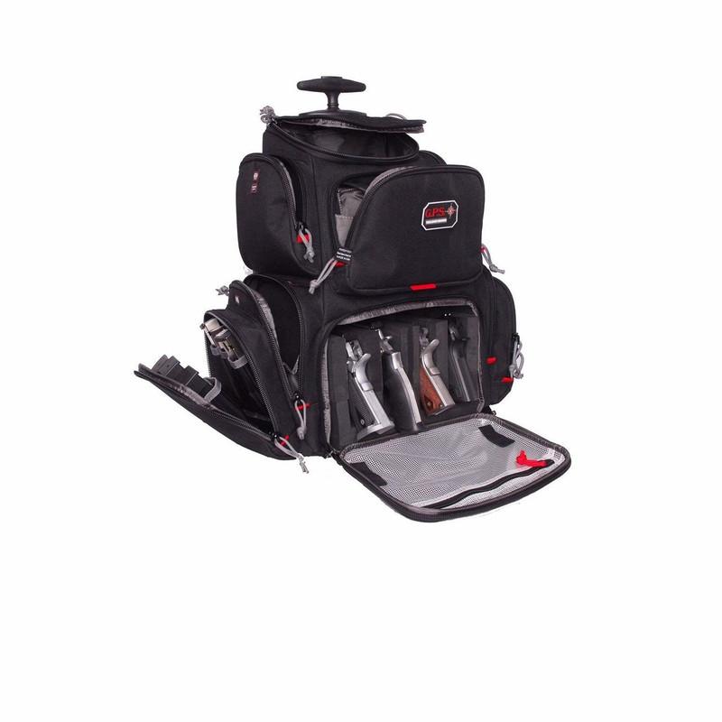 G-Outdoors   GPS Rolling Handgunner Backpack Black