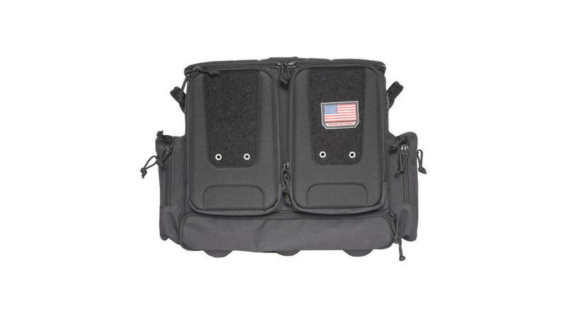 G-Outdoors | Tactical Rolling Range Bag Black