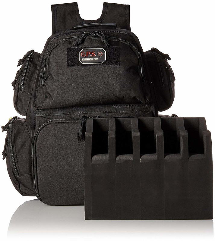 G-Outdoors | GPS Executive Backpack Black