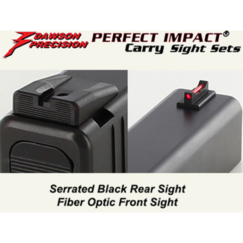 Dawson | Glock Front & Rear Sight (310-001)