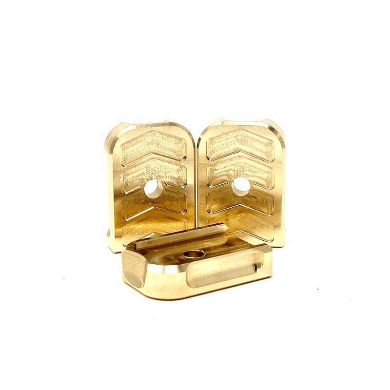 Patriot Defense | Tanfoglio Base Pads - Brass