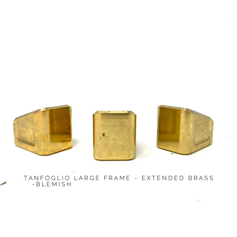 Patriot Defense   Tanfoglio Base Pad - Extended - BRASS - LF (Blemish)