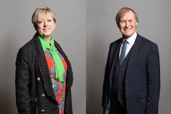 Jackie in conversation with Sir David Amess Tuesday 30th March 6pm
