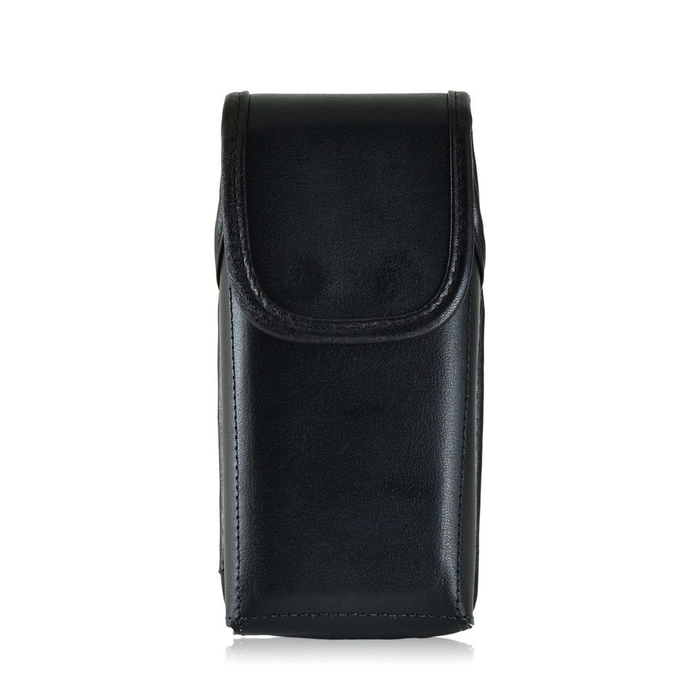 Sonim XP5 Vertical Leather Holster Pouch Metal Belt Clip by Turtleback