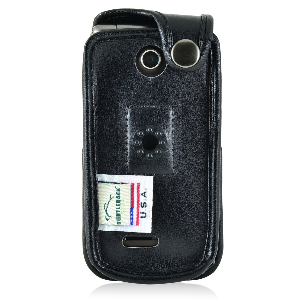 LG Exalt 2 II VN370 Leather Fitted Phone Case, Plastic Belt Clip