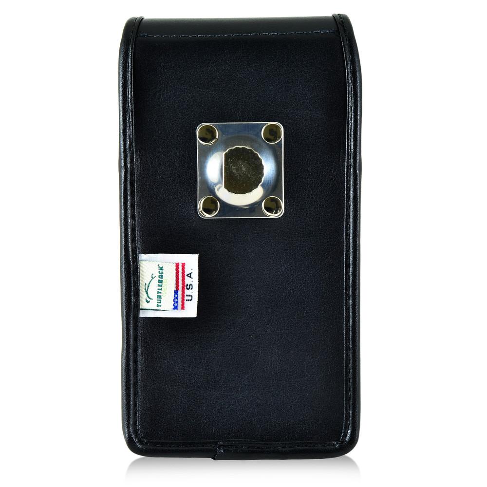 huge selection of f48b3 7bfbd LG V10 Vertical Leather Holster Case Metal Belt Clip