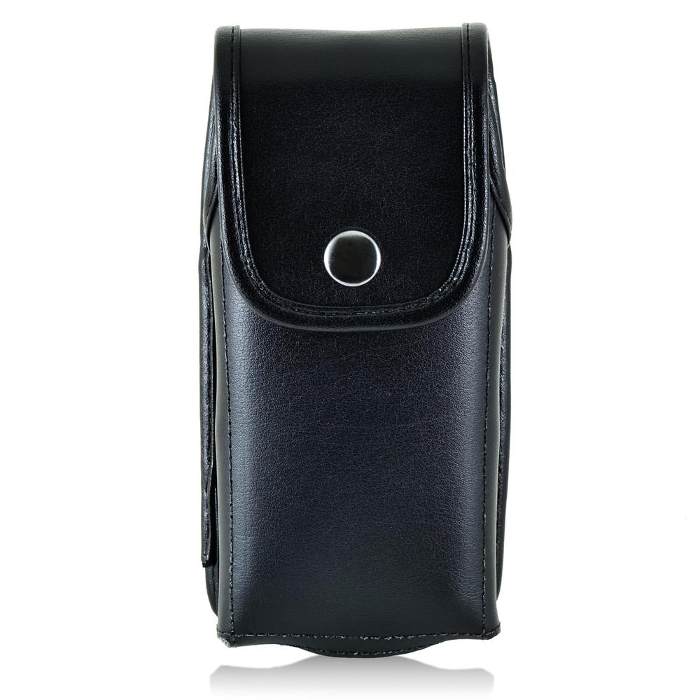 RugGear Supreme RG310 Leather Snap Closure Holster, Metal Belt Clip
