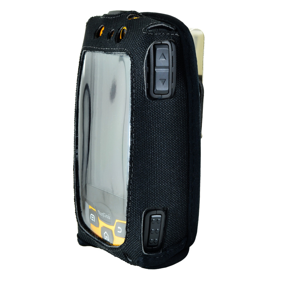 RugGear Swift Plus RG220 Nylon Fitted Case Metal Clip