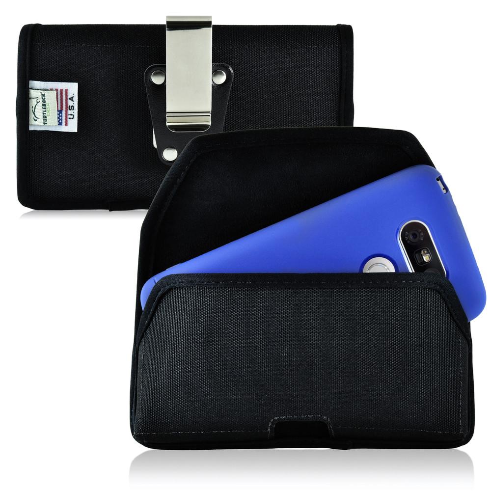 Turtleback LG G5 Nylon Holster Case, Metal Belt Clip