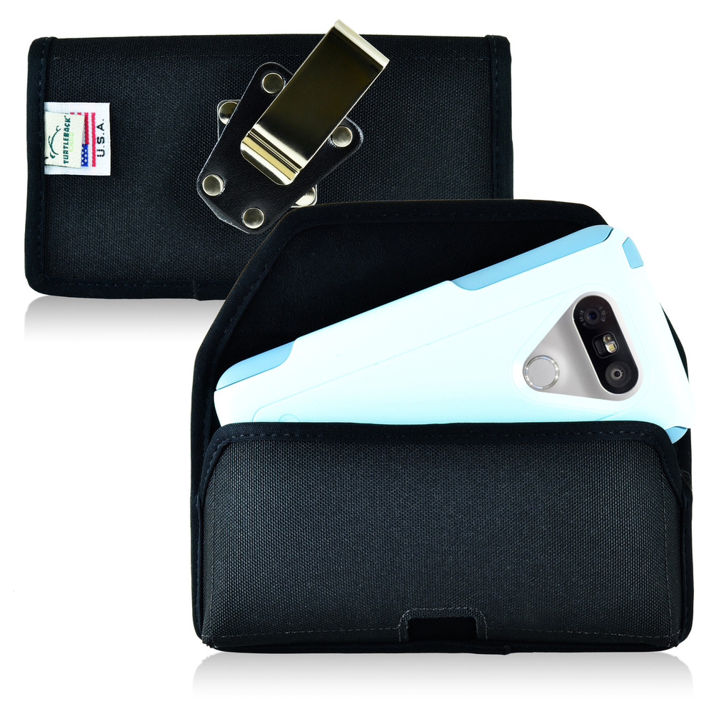 Turtleback LG G5 Nylon Holster Case with Metal Clip for Otterbox Commuter