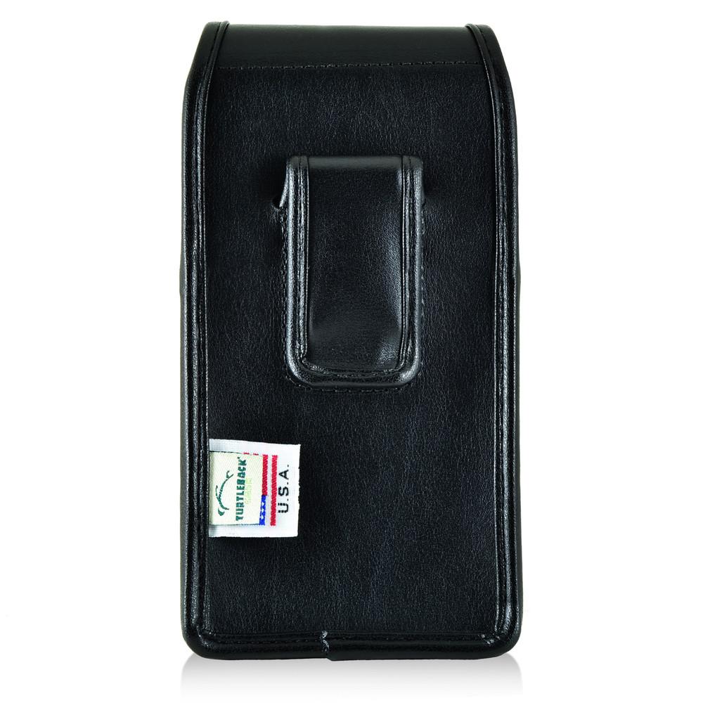 Mophie Juice Pack H2PRO iPhone 6S Holster H2PRO iPhone 6S Belt Clip Case, Executive Belt Clip, Vertical Black Leather Pouch - Magnetic Flap Closure