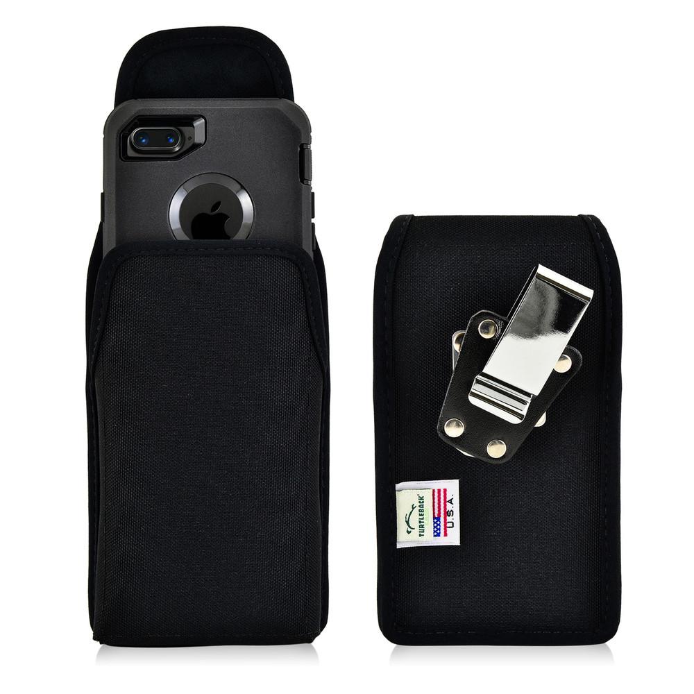 iPhone SE 2020 (2nd Gen), iPhone 7 / 8 Nylon Holster Vertical Metal belt Clip Fits Otterbox Defender Case