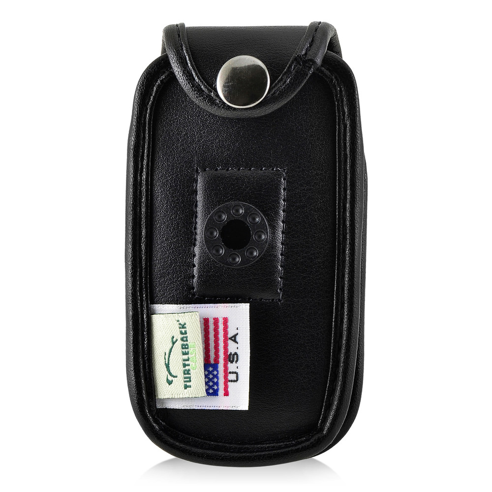 ZTE Z222 Leather Flip Phone Fitted Case Plastic Clip