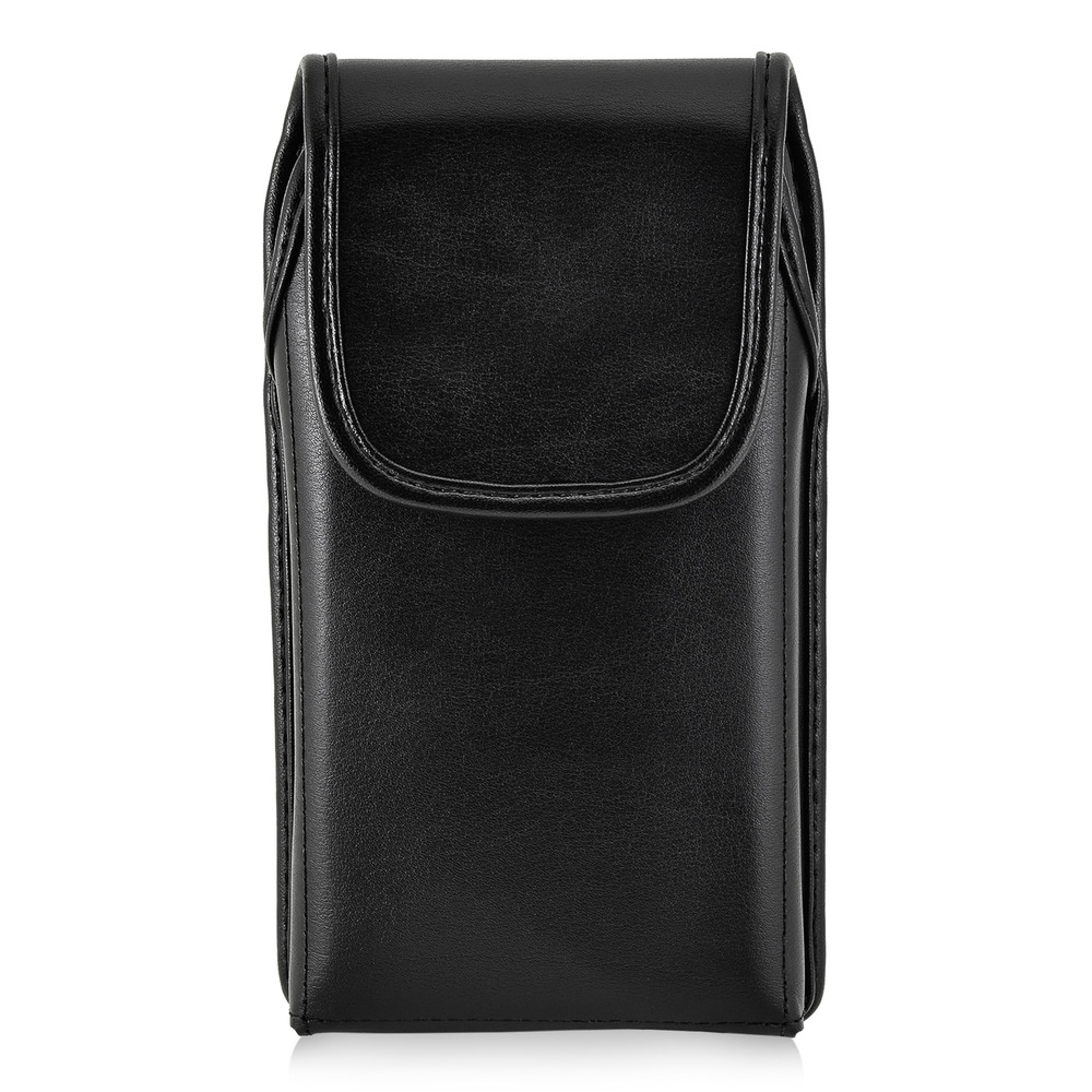 info for 4d9fc f57e8 S7 Edge Leather Vertical Holster Black Clip Fits Otterbox Defender