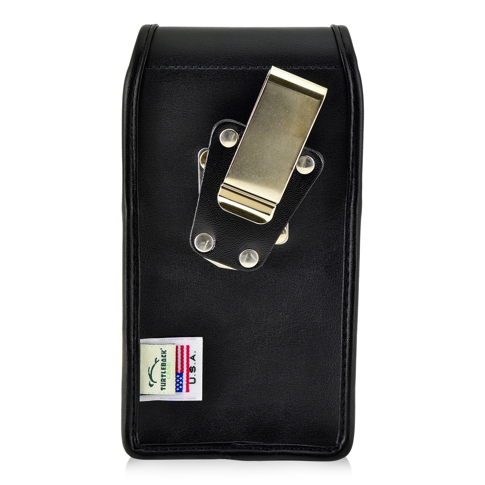 buy online d2fcb 7a21a Galaxy S8 Leather Vertical Holster Metal Belt Clip Otterbox Commuter