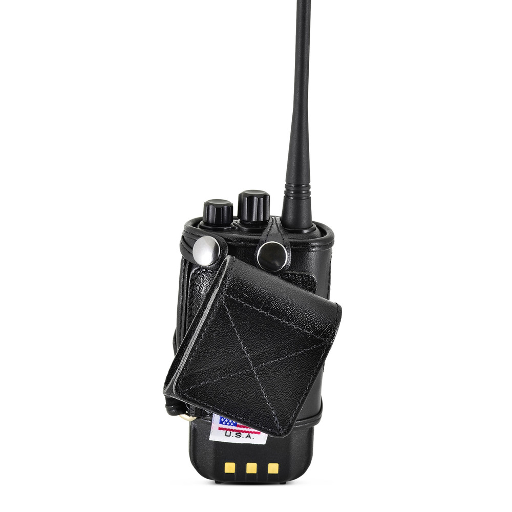 Retevis RT3 Radio Belt Case Holder-Tytera TYT MD380 Two 2Way Radios Walkie Talkie Black Clip fits in Charger