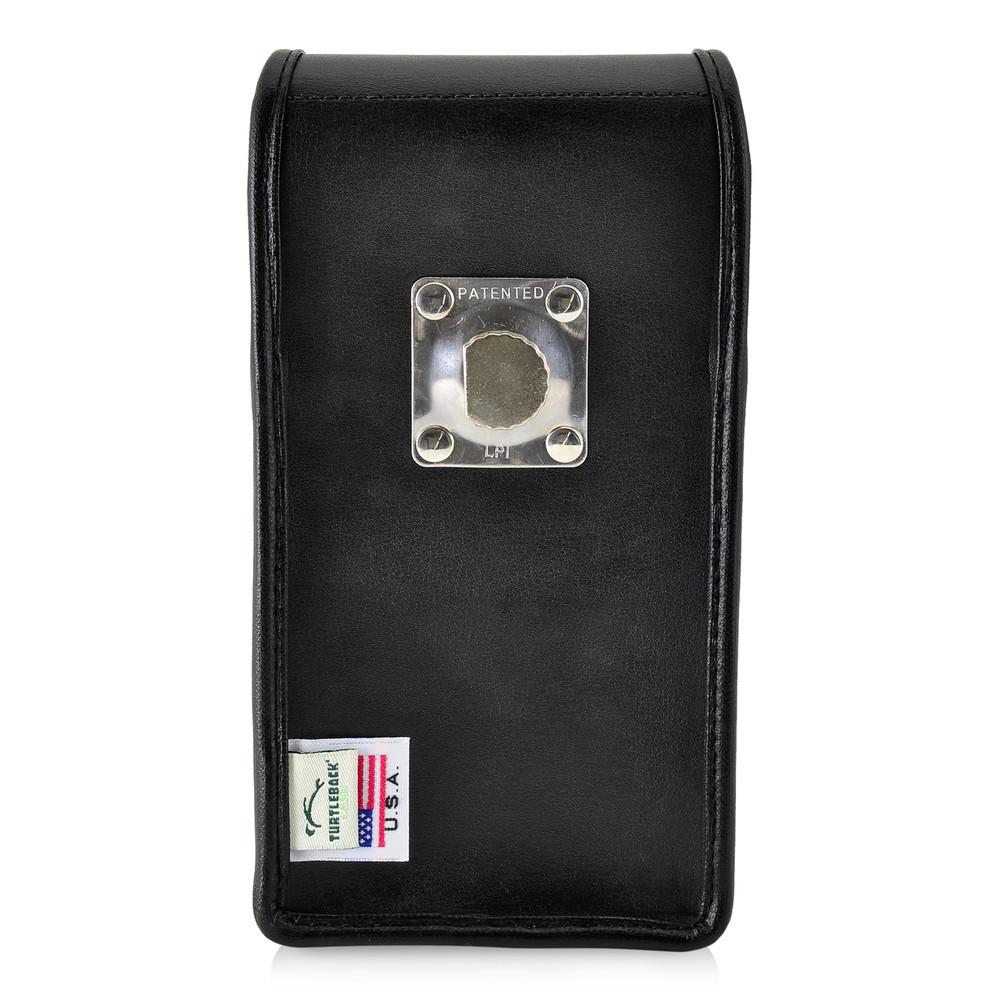 check out 53509 19d65 Google Pixel 2 XL Belt Case Fits Slim Case Vertical Black Leather Heavy  Duty Rotating Belt Clip