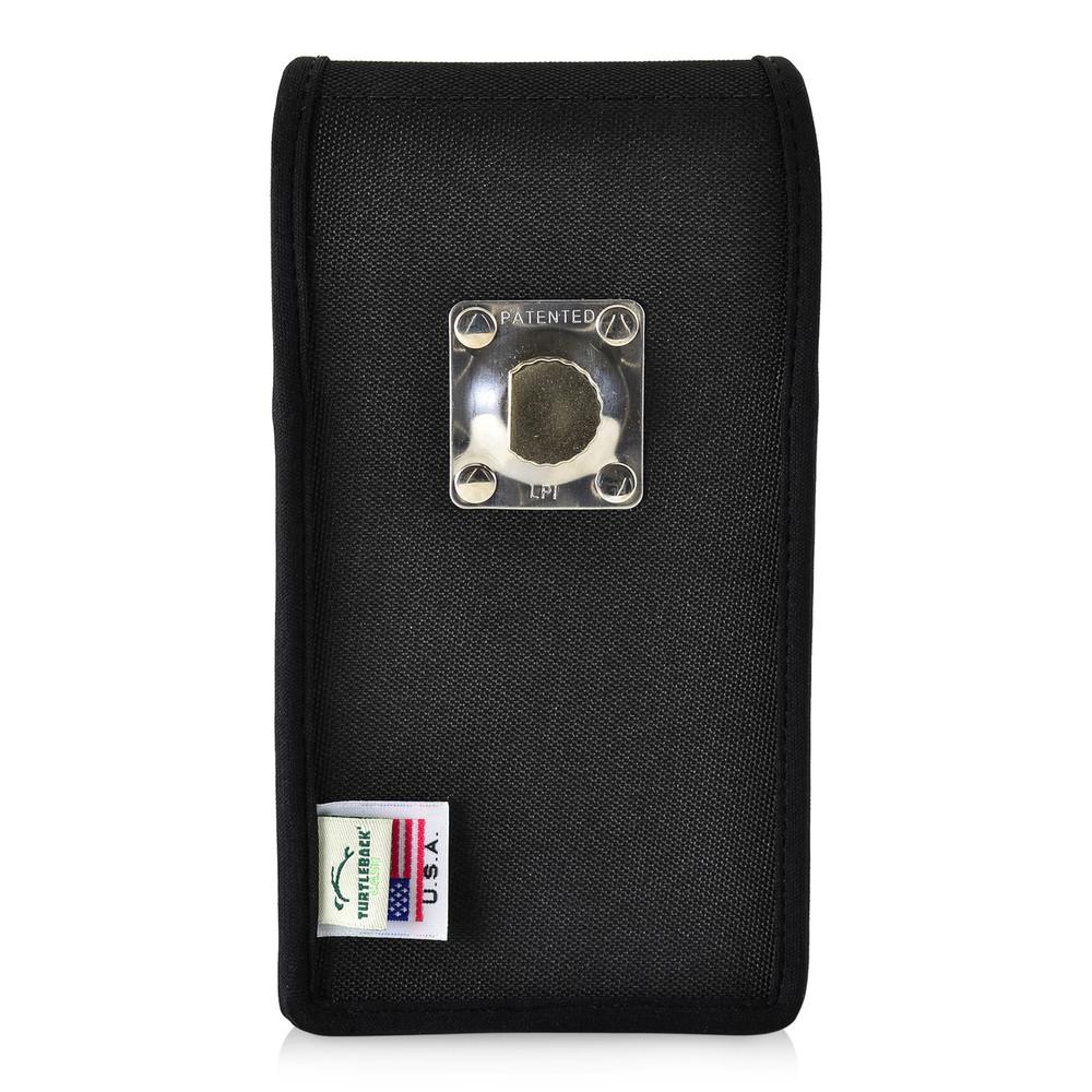 reputable site 4b3e8 7c8bf Google Pixel 2 XL Belt Case Fits Slim Case Vertical Black Nylon Heavy Duty  Rotating Belt Clip