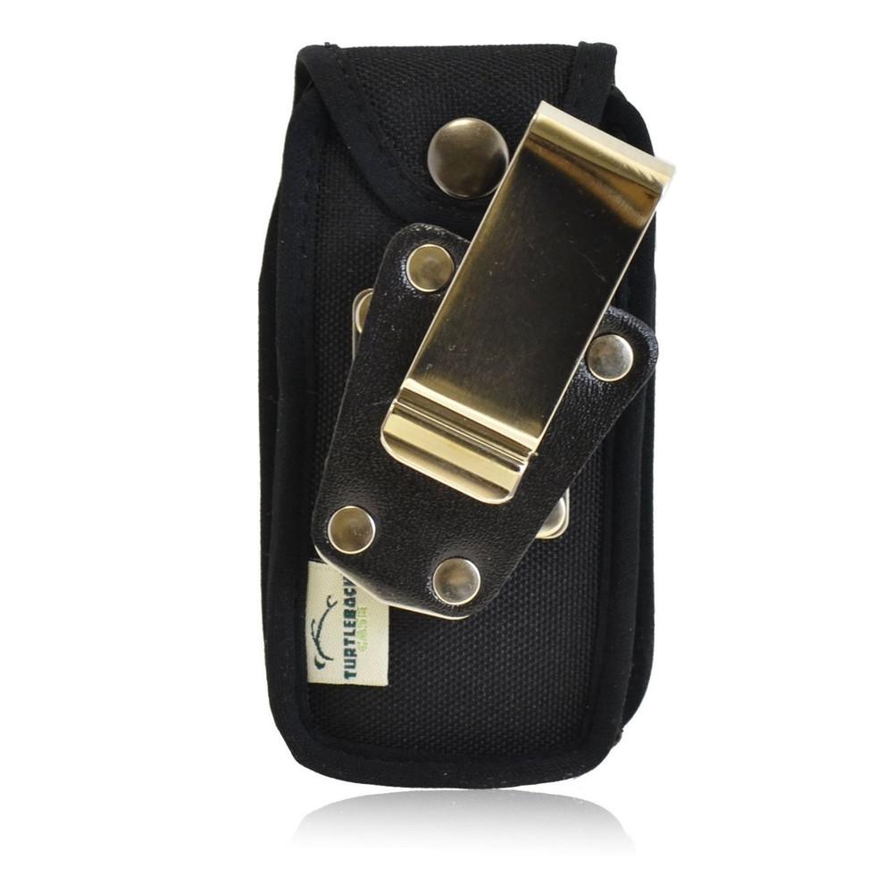 Alcatel 768 Heavy Duty Nylon Phone Case with Rotating Metal Belt Clip
