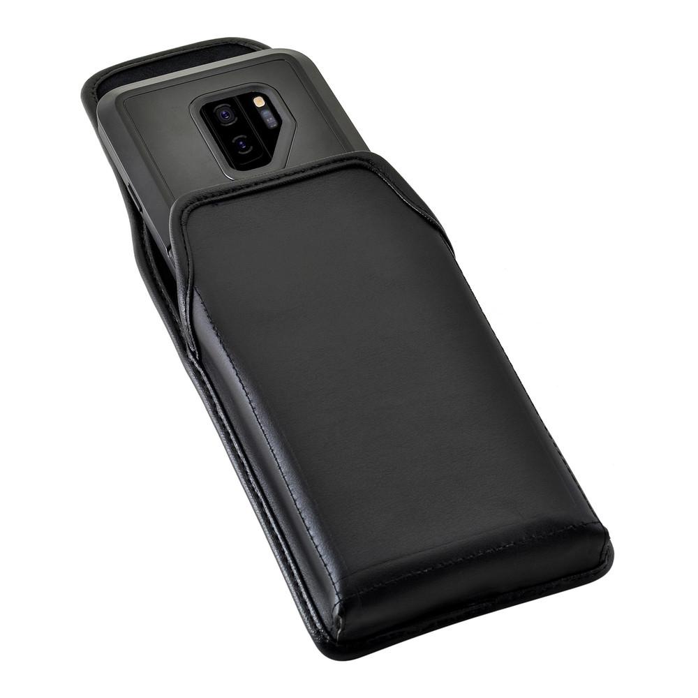 best sneakers fd2cf a9725 Galaxy S9 Plus Vertical Belt Case for Otterbox PURSUIT Case Rotating Belt  Clip Pouch