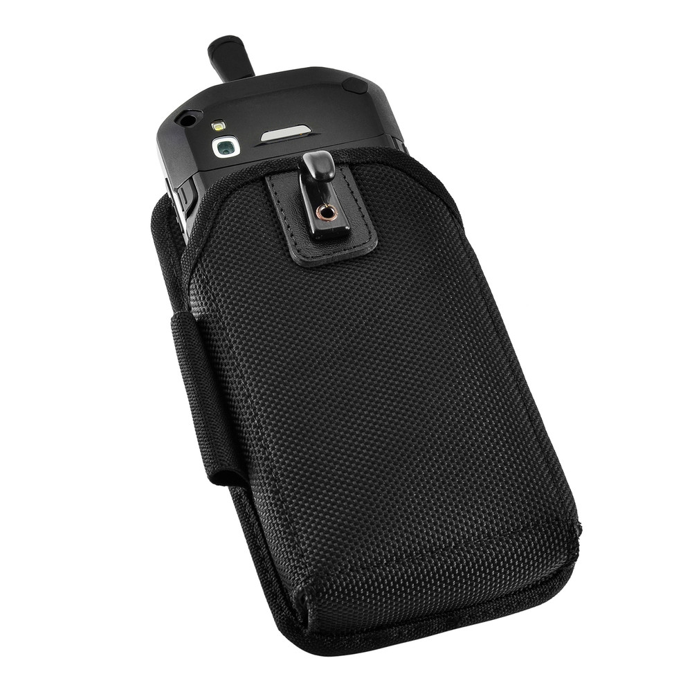 Zebra Motorola TC51/TC56 TC510K Touch Mobile Computer Nylon Holster, 2 Belt  Clips (Metal Clip & Belt Loop)