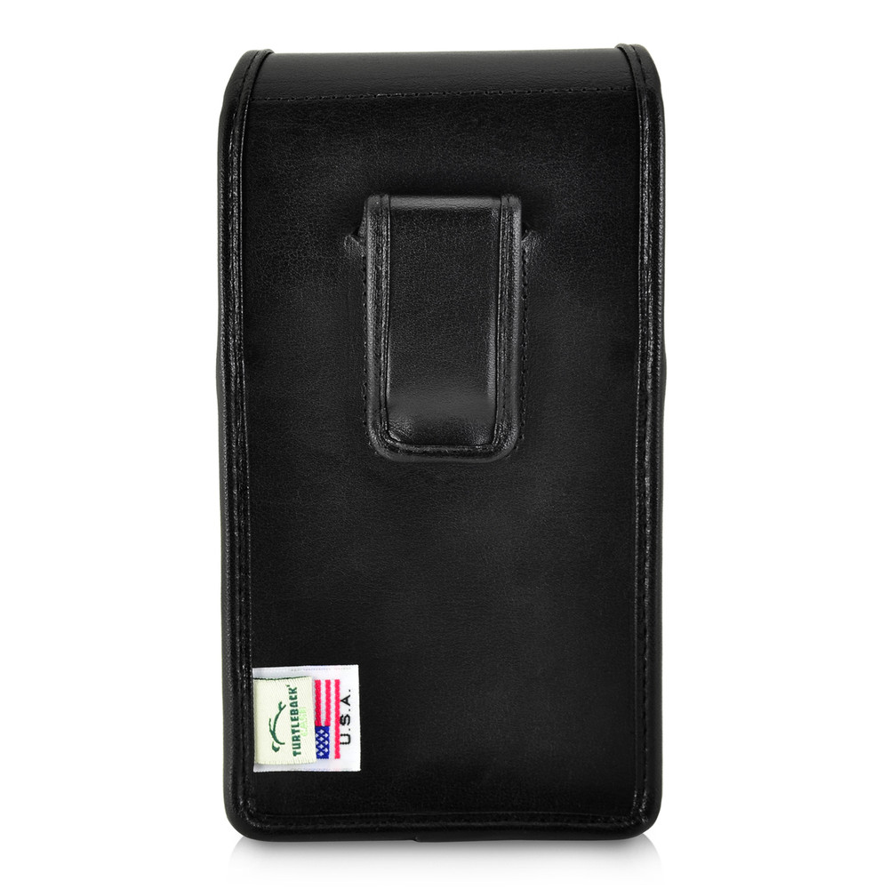 watch 0cf20 e1134 iPhone XS MAX (2018) Fits with OTTERBOX DEFENDER Vertical Belt Case Black  Leather Pouch Executive Belt Clip