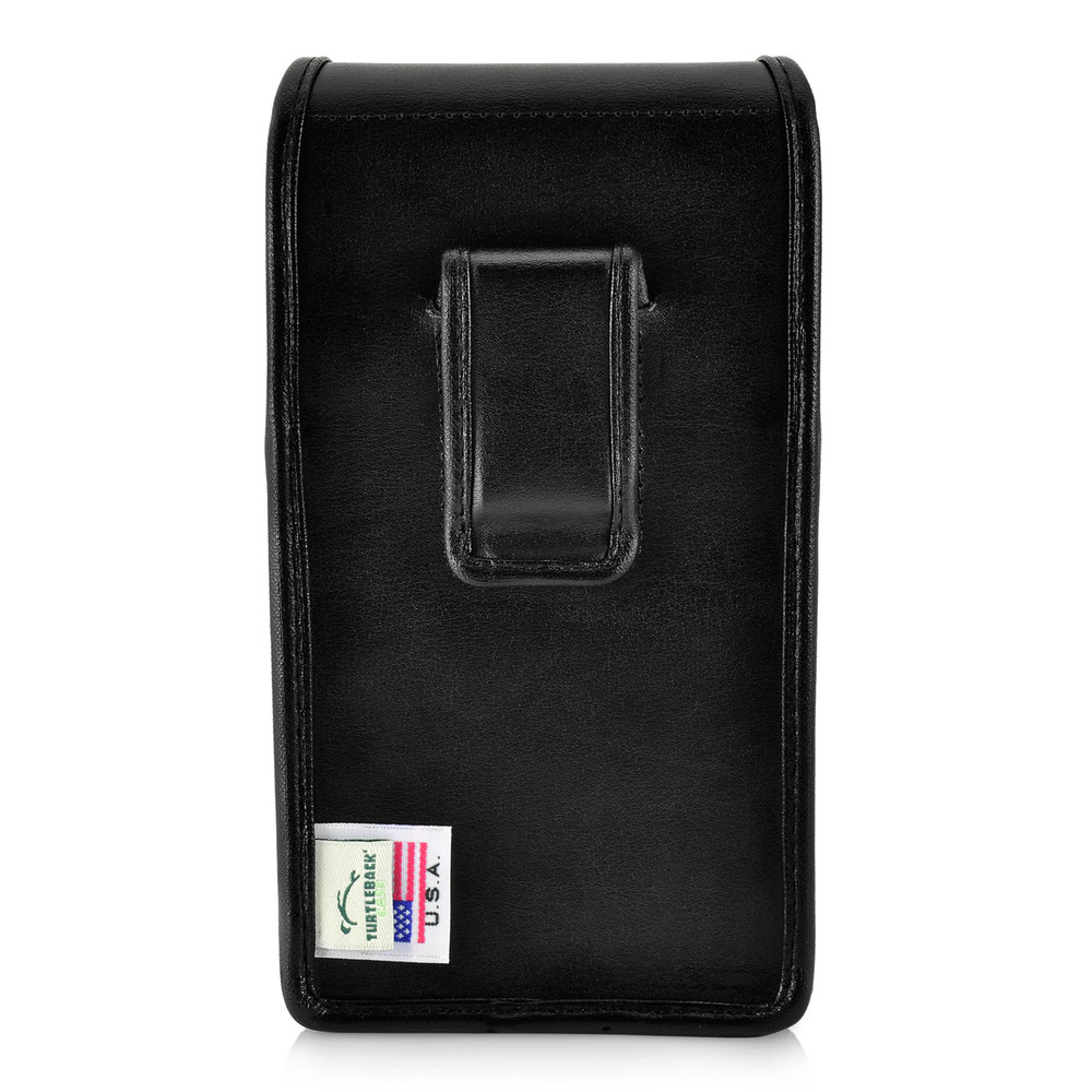 new arrival e5e83 5e1d1 iPhone XS MAX (2018) Fits with OTTERBOX COMMUTER Vertical Belt Case Black  Leather Pouch Executive Belt Clip