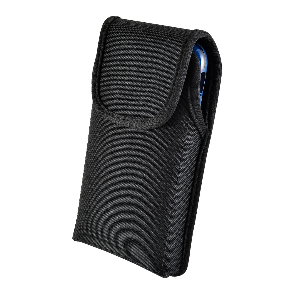 Turtleback Belt Clip Case Designed for iPhone 11 Pro, XS & X Fits with OTTERBOX STATEMENT, Vertical Holster Black Nylon Pouch with Heavy Duty Rotating Belt Clip, Made in USA