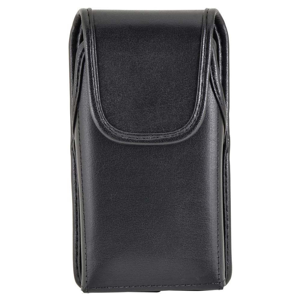 Kyocera DuraForce Holster Black Belt Clip Case Pouch Leather Vertical Turtleback