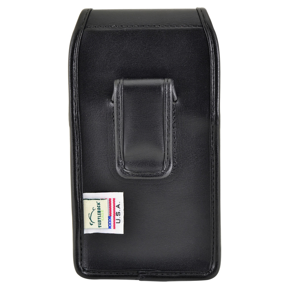 quality design 13ad8 8be6e Kyocera DuraForce PRO Holster Black Clip Case Pouch Leather Vertical  Turtleback
