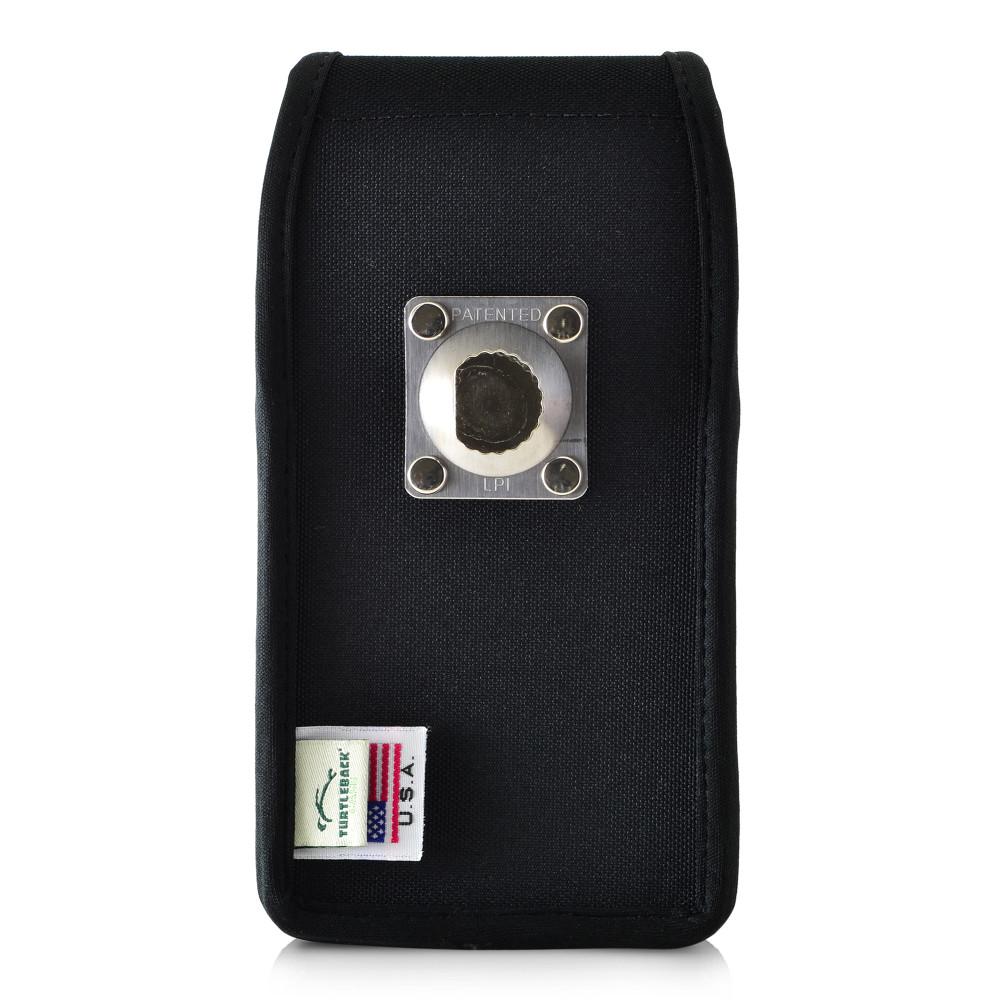 Galaxy S10 Nylon Vertical Holster Case Metal Belt Clip