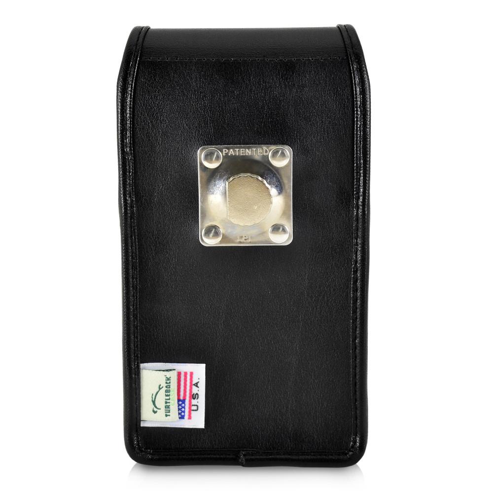 Tough Defense Combo for iPhone 11, Black/Clear Drop Test Case + Vertical Pouch, Metal Clip