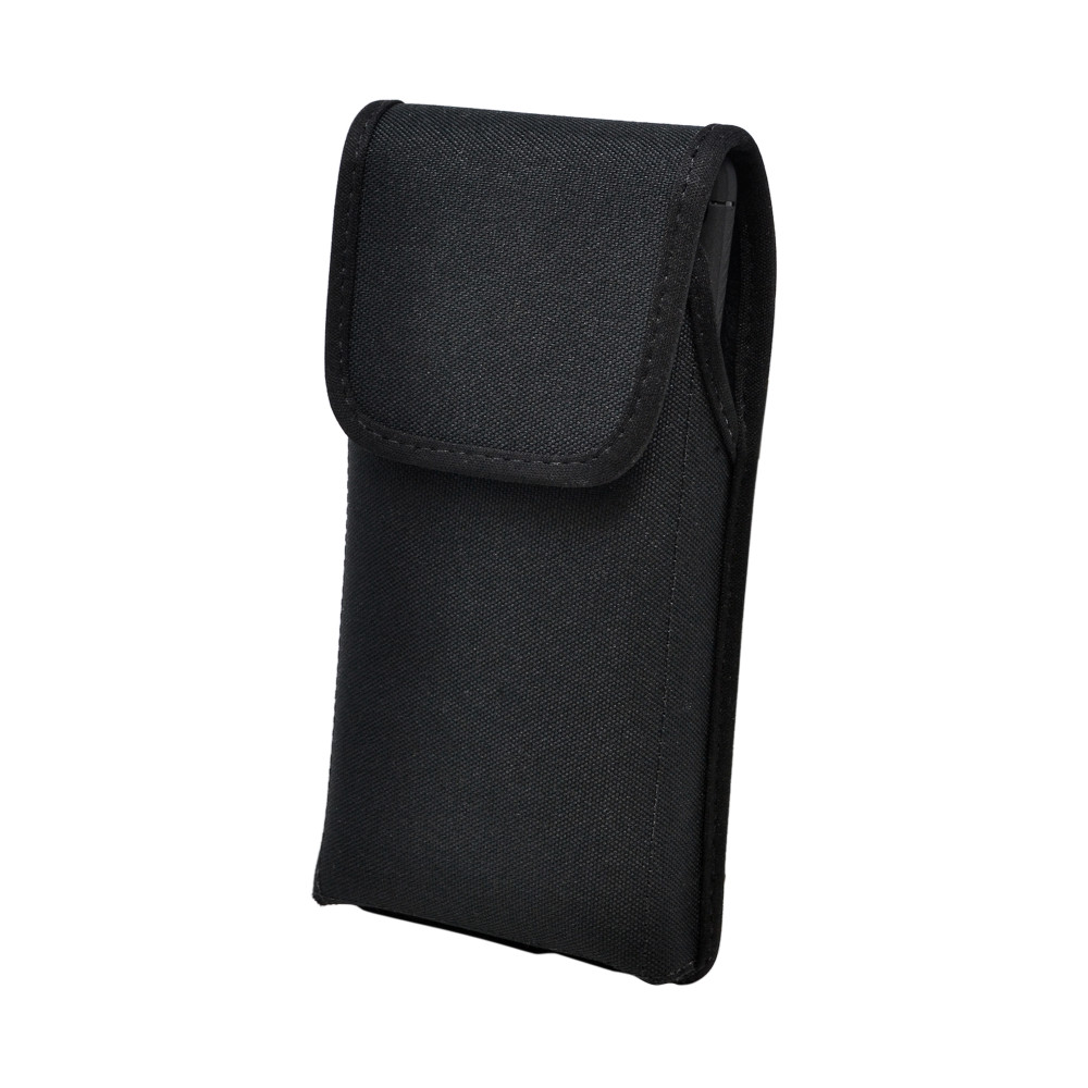 Galaxy S20 Ultra Vertical Holster Black Nylon Pouch Rotating Belt Clip