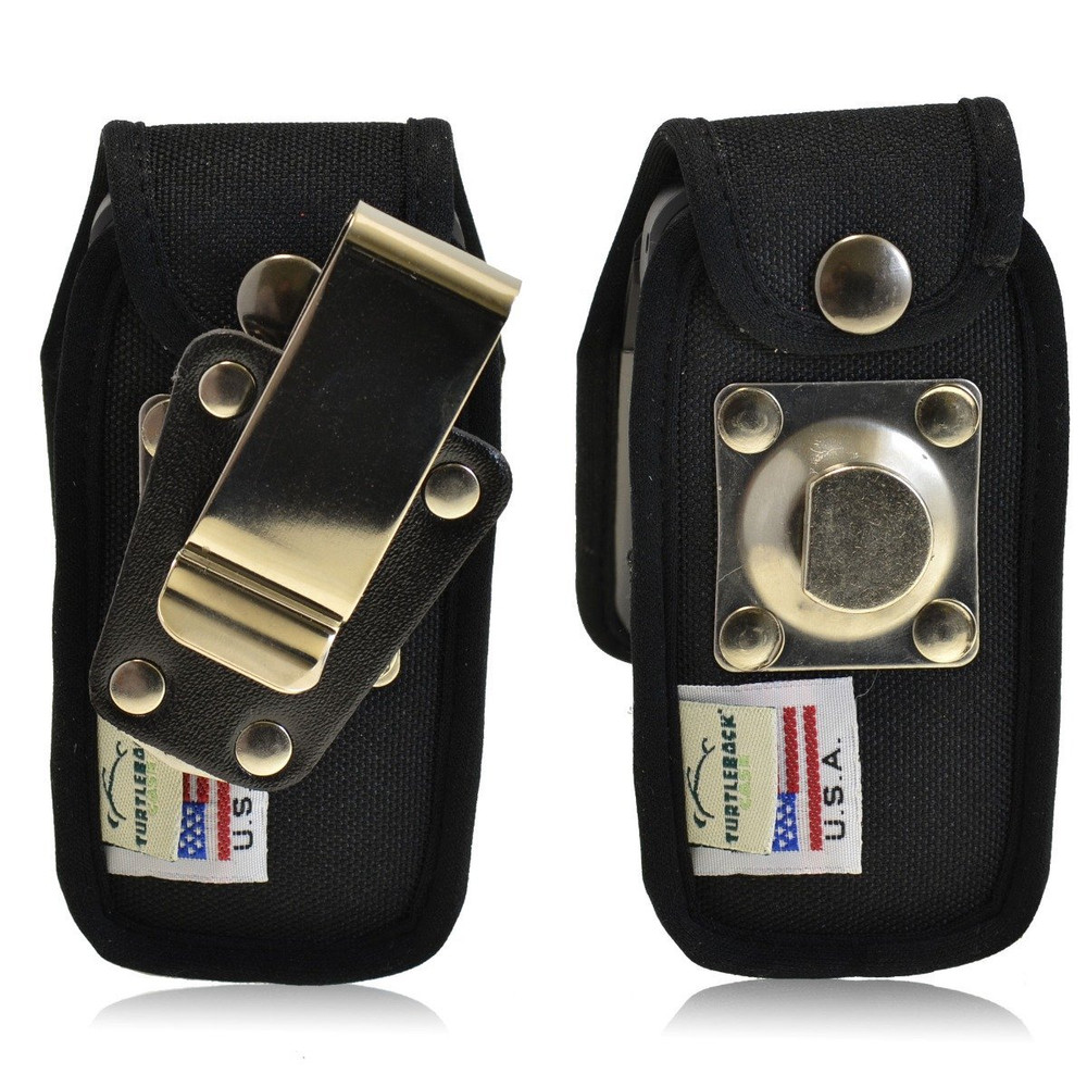 LG 440G Heavy Duty Nylon Phone Case with Rotating Metal Belt Clip