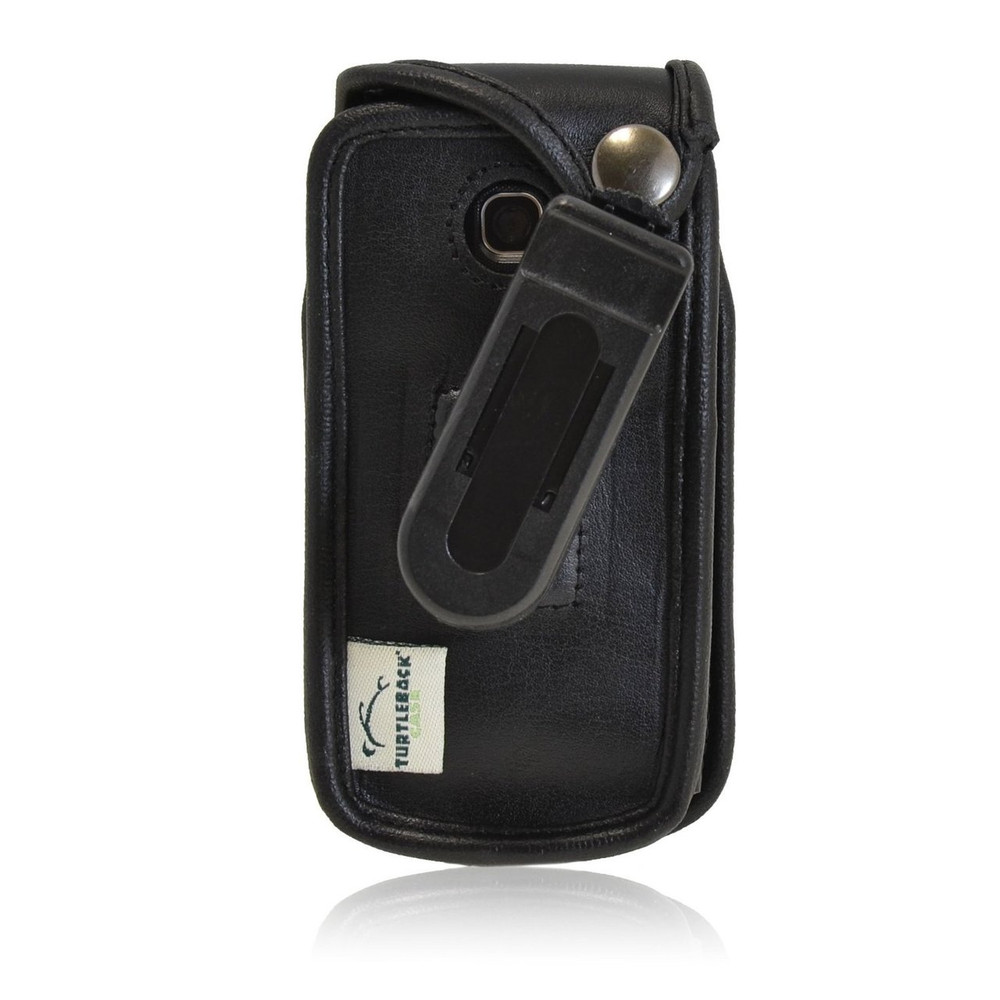 LG A380 Executive Black Leather Case Phone Case with Ratcheting Belt Clip