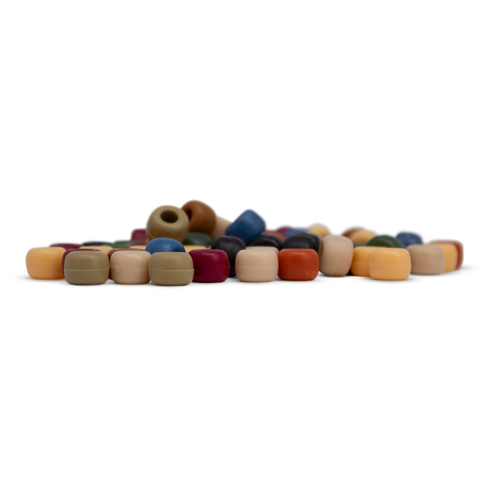 Earth colored bead pack (Set of 10 Beads)