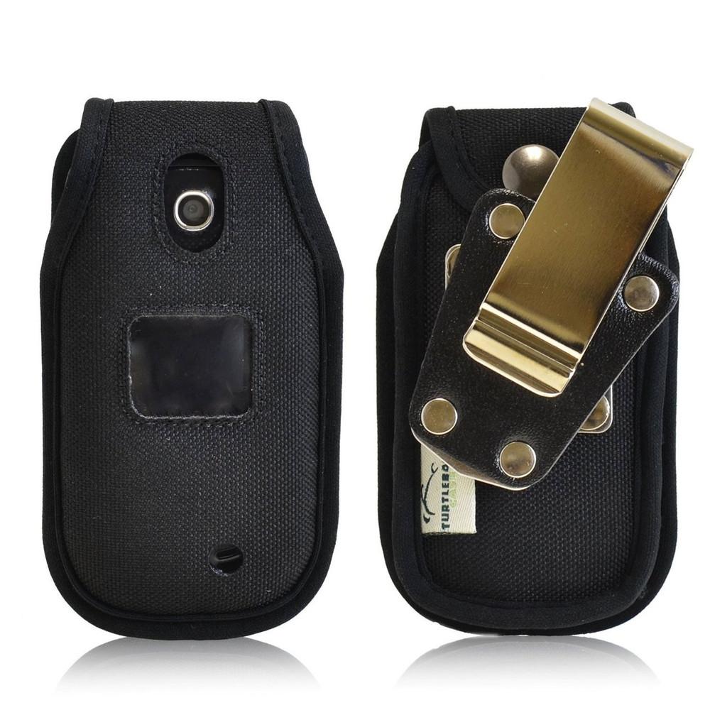 LG Revere 3 Heavy Duty Nylon Phone Case with Rotating Metal Belt Clip