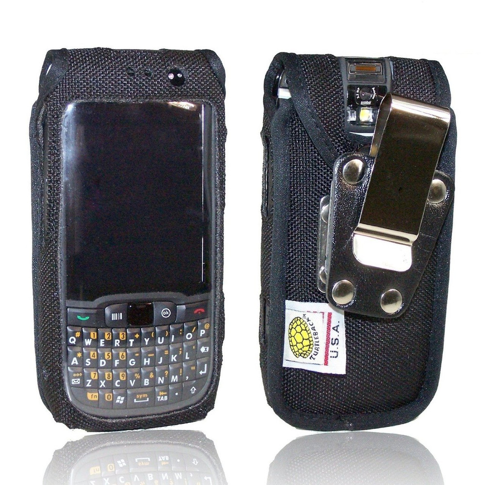 Motorola ES400 Extended Battery Heavy Duty Nylon Phone Case with Removable Metal Belt Clip