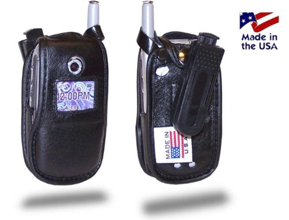 Motorola V710 / e815 / e816  Heavy Duty Leather Cell Phone Case