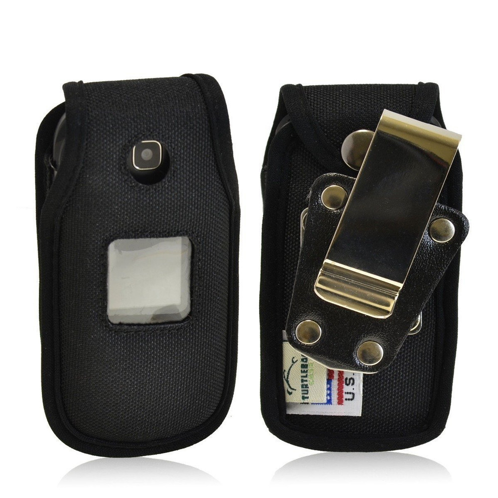 Samsung Denim A207 Heavy Duty Nylon Phone Case with Rotating Metal Belt Clip
