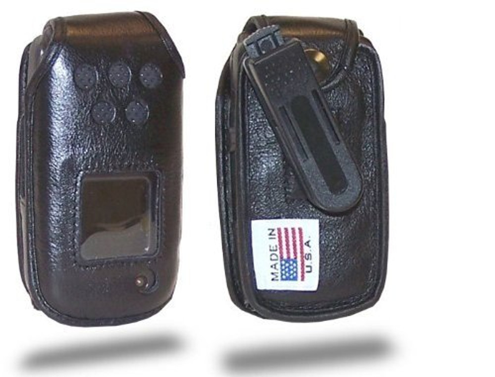 Samsung Rugby 2 A847, A837  Executive Leather Case with Ratcheting Belt Clip