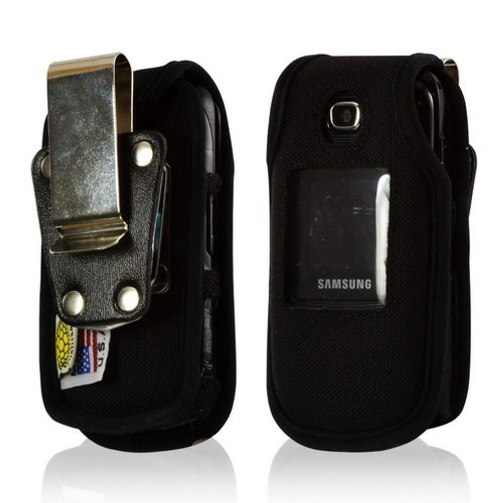Samsung C414 Heavy Duty Nylon Phone Case with Rotating Metal Belt Clip