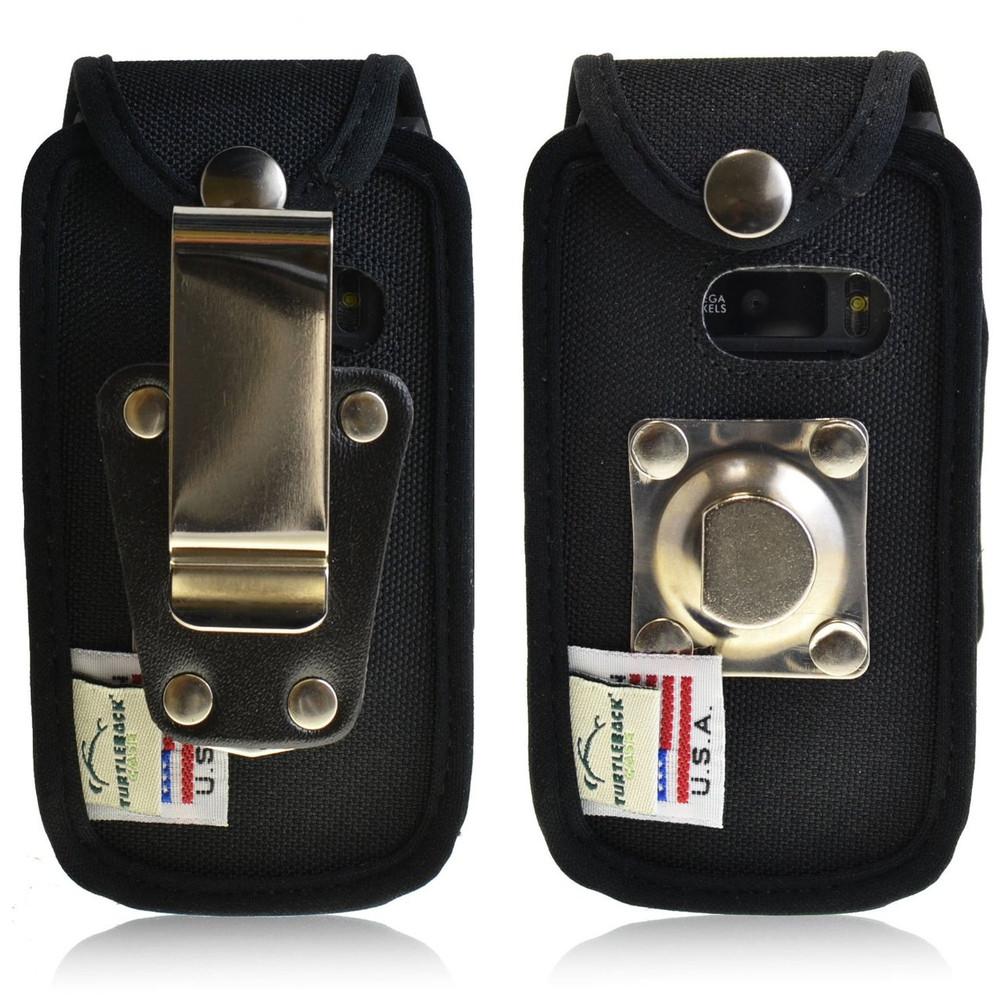 Sonim Enduro 4400 Heavy Duty Nylon Fitted Case, Metal Belt Clip by Turtleback