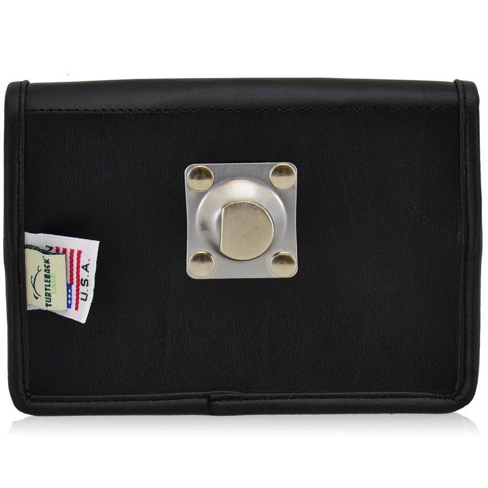 Blackberry Passport Horizontal Leather Holster, Metal Belt Clip